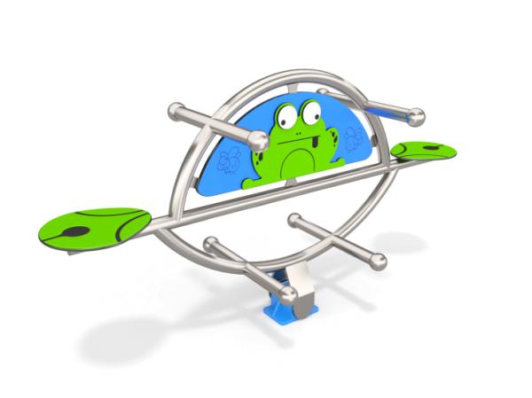 Doppel-Federwipper Frog