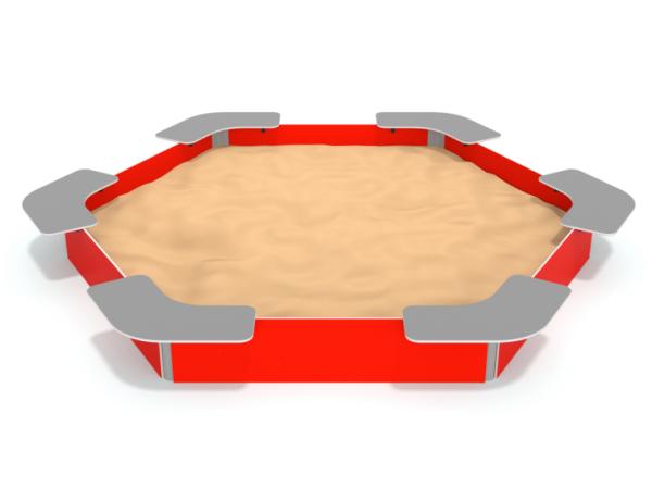 Sandkasten RED