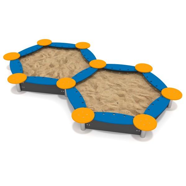 Doppel - Sandkasten DUO